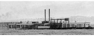 First Factory Building 1933