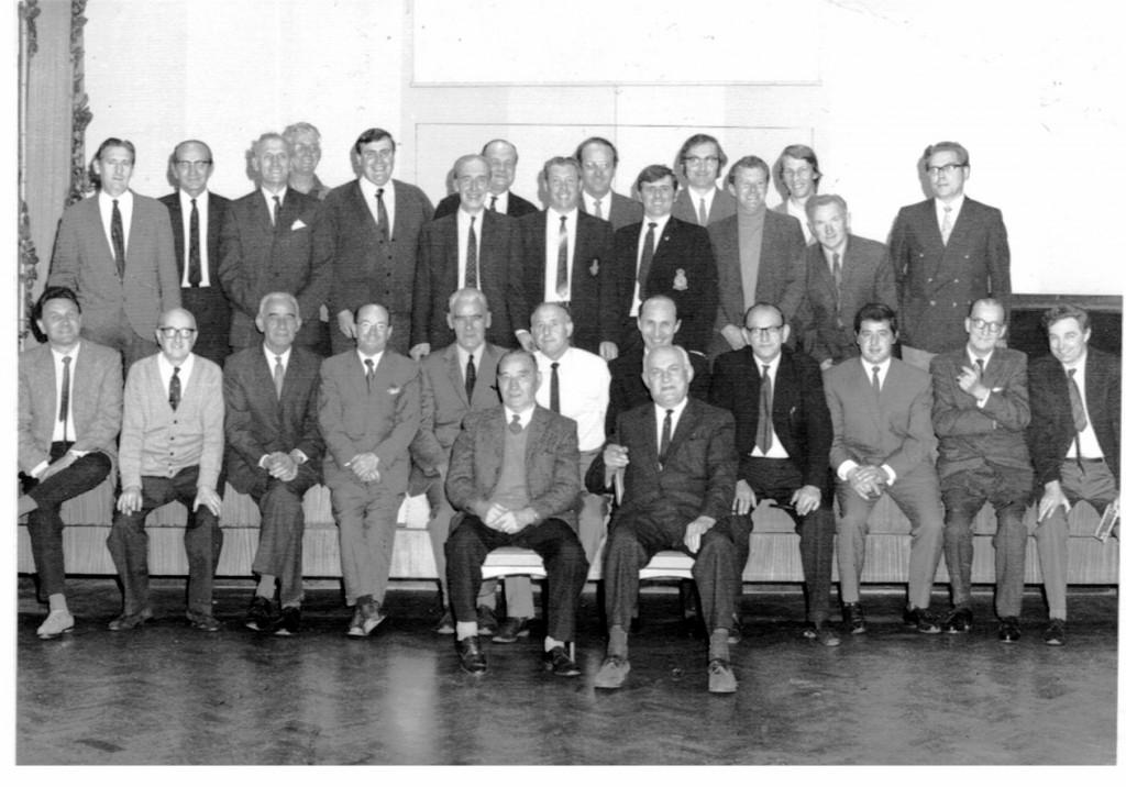 Members of the BATA Engineers' Dept - c1960s